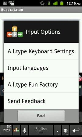 quick response android keyboard