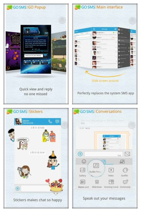 best sms app for android