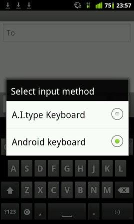 how to install third party android keyboard