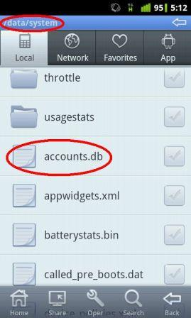 how to delete gmail account from android phone