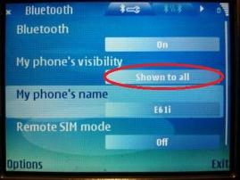 how to pair nokia symbian with android phone