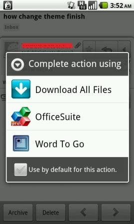 how to download content is not supported files android