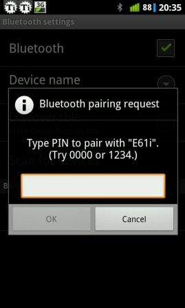 how to transfer file via bluetooth android