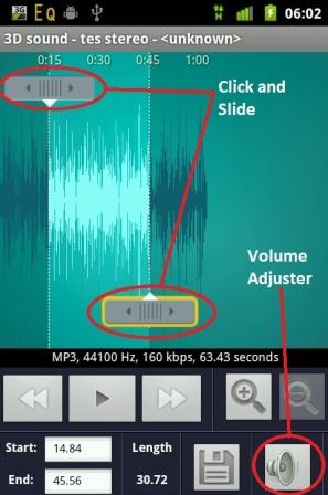 make android volume ringtone higher app